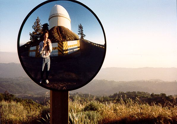 Bob Cantor Self-Portrait at the Lick Observatory